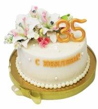 №3723 Торт на юбилей 35