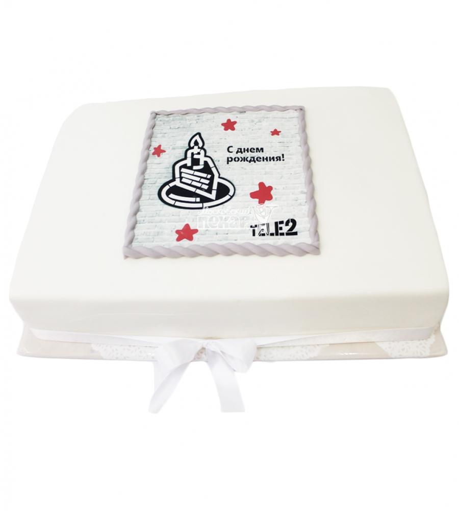 №3732 Корпоративный торт для TELE2