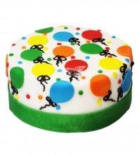 №3755 Торт с шариками