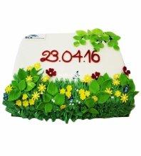 "№3777 Корпоративный торт для ""ВСК"""