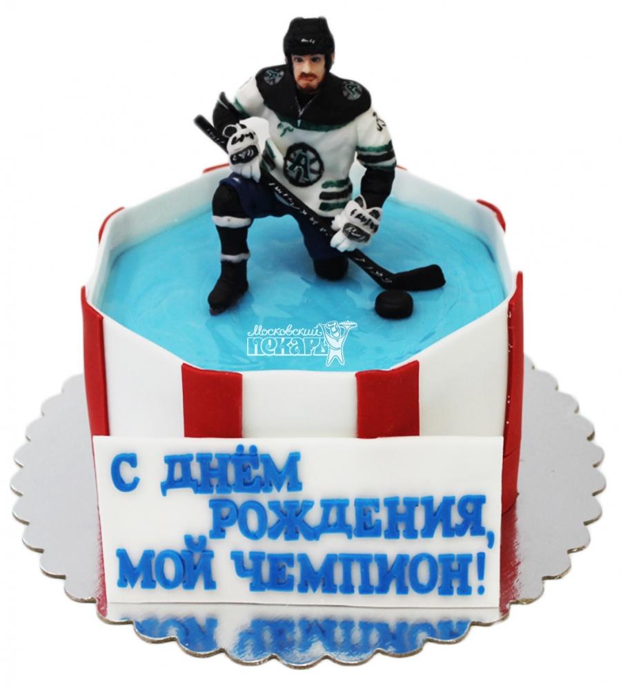 №3787 Торт хоккеист