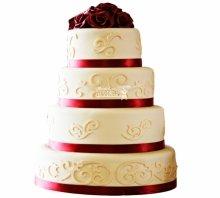 №3807 Свадебный торт