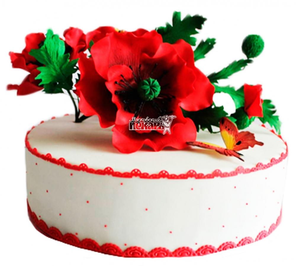№3811 Небольшой свадебный торт