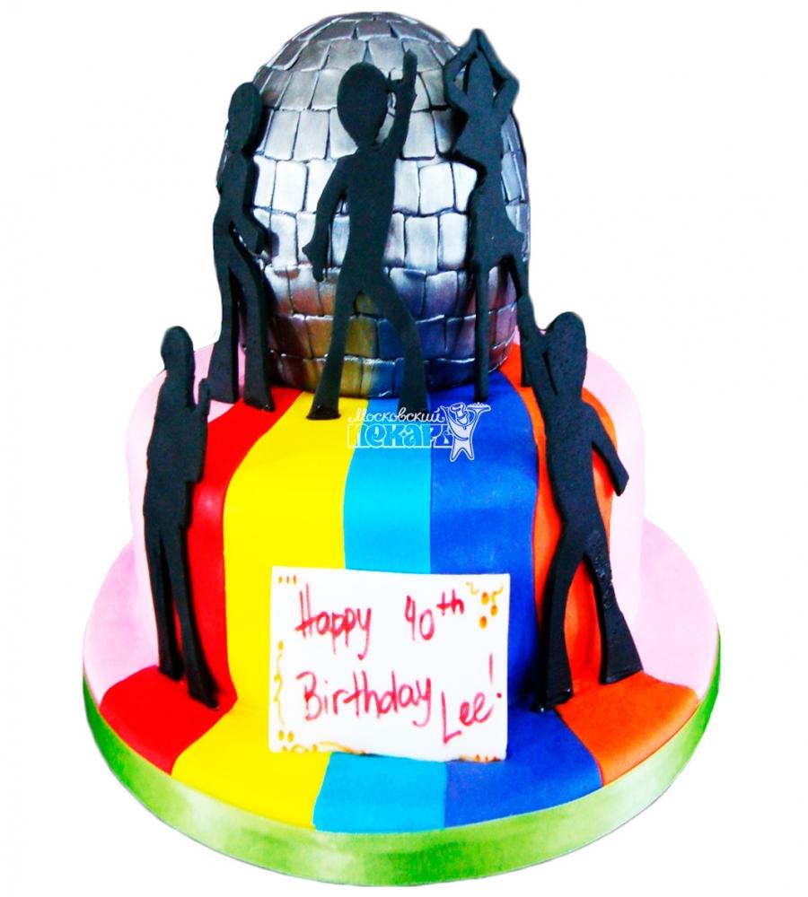 №3833 Свадебный торт диско