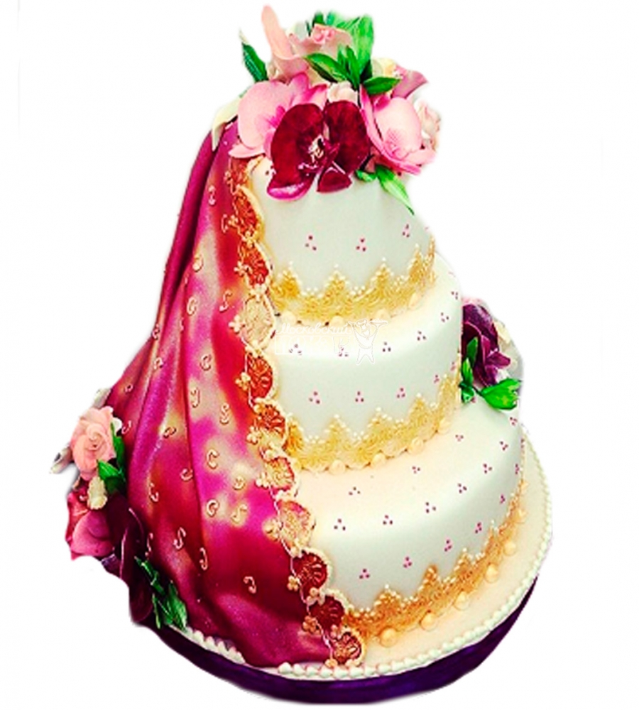 №3838 Свадебный торт