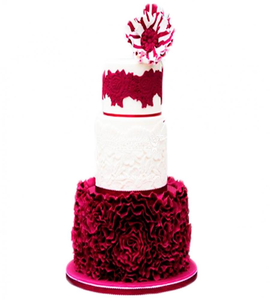 №3842 Свадебный торт
