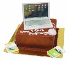 №3849 Торт ноутбук