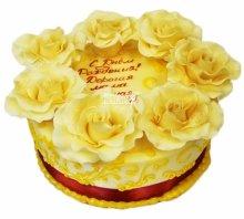 №3853 Торт с цветами