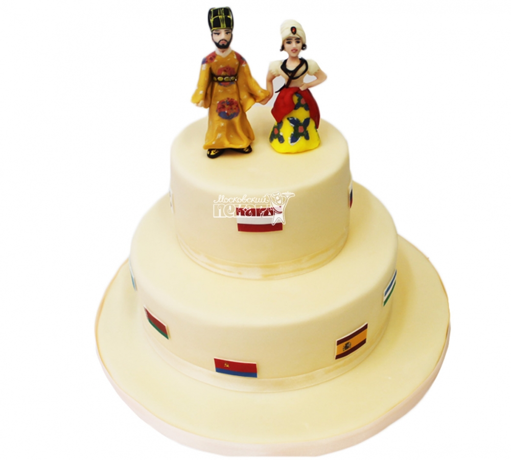 №3865 Свадебный торт