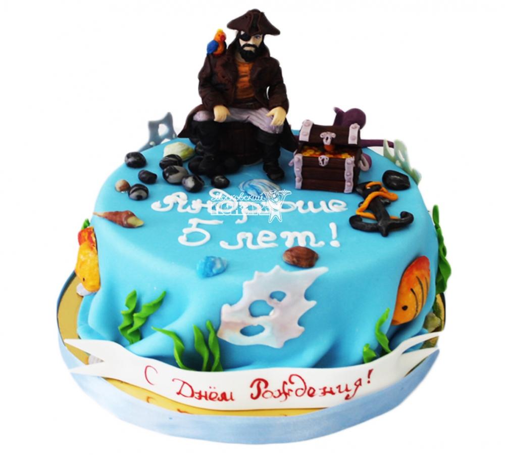 №3868 Торт с пиратом