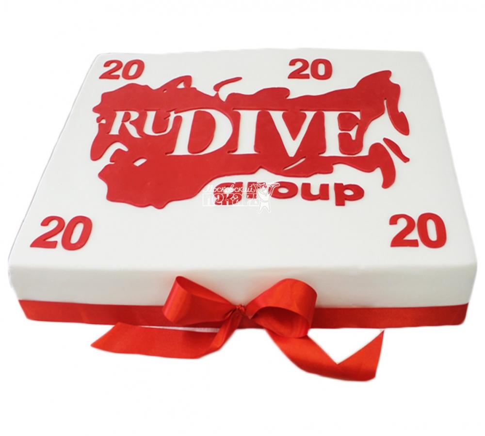 №3869 Корпоративный торт для