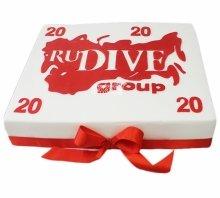 """№3869 Корпоративный торт для """"RUDIVEGROUP"""""""