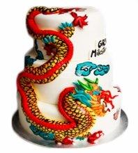 №3898 Свадебный торт азиатский