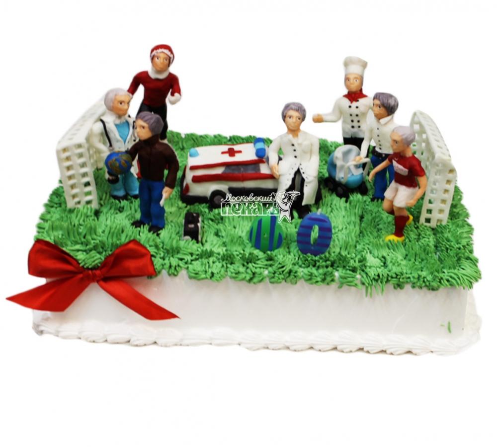 №3910 Торт футбольное поле