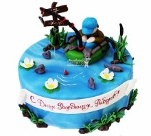 №3911 Торт рыбаку