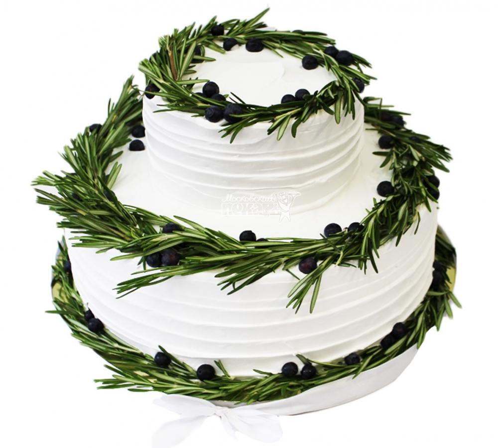 №3915 Свадебный торт Греческий