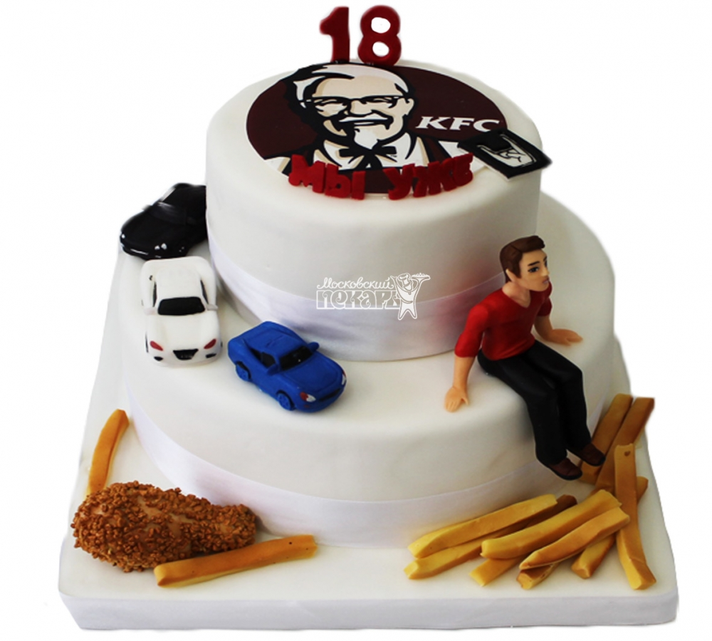 №3917 Торт KFC