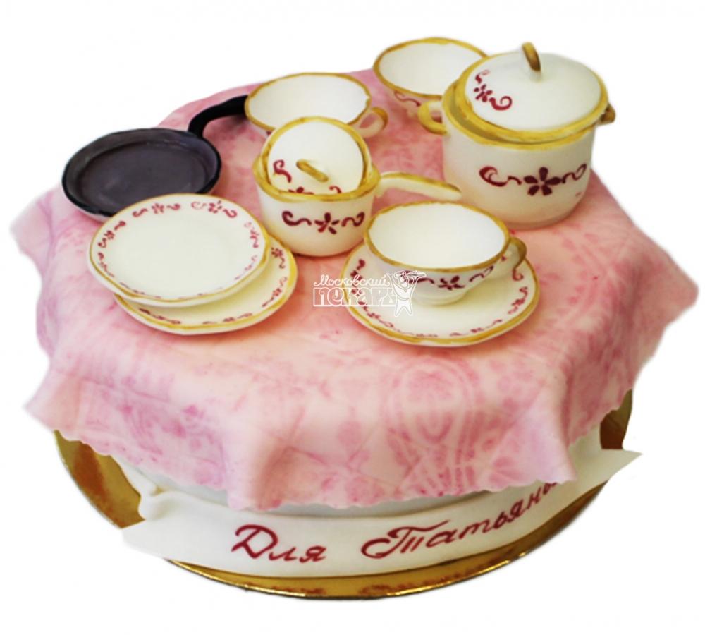 №3926 Торт посуда
