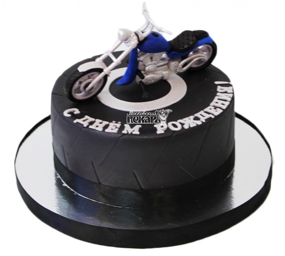 фото торт в виде мотоцикла