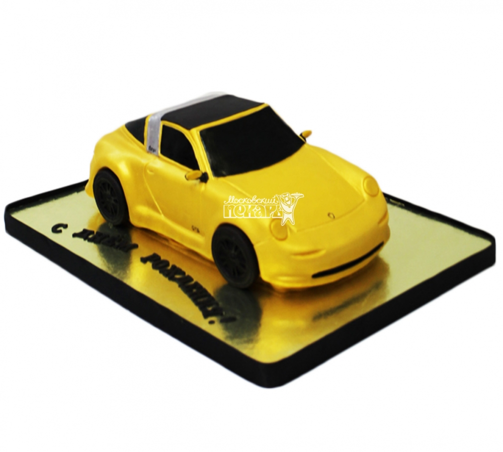 №3956 3D торт Порше
