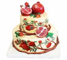 №3970 Свадебный торт с гранатом