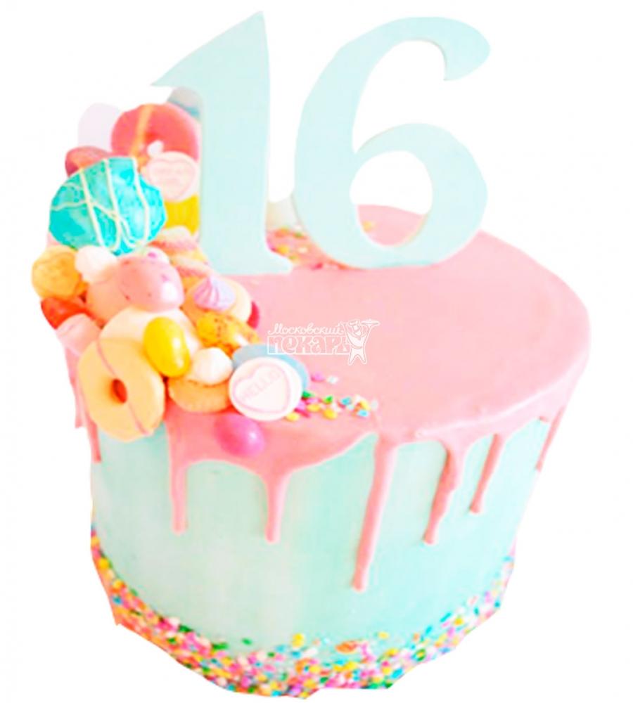 №3975 Торт на День Рождения