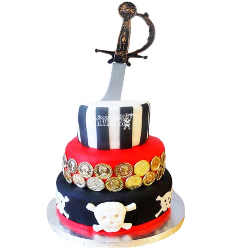№3977 Торт пиратский