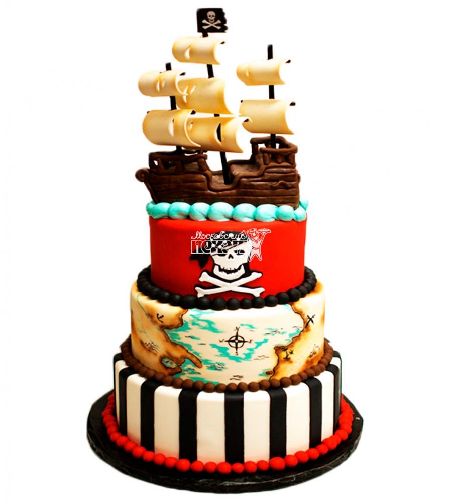 №3979 Торт пиратский