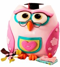 №3990 3D Торт сова
