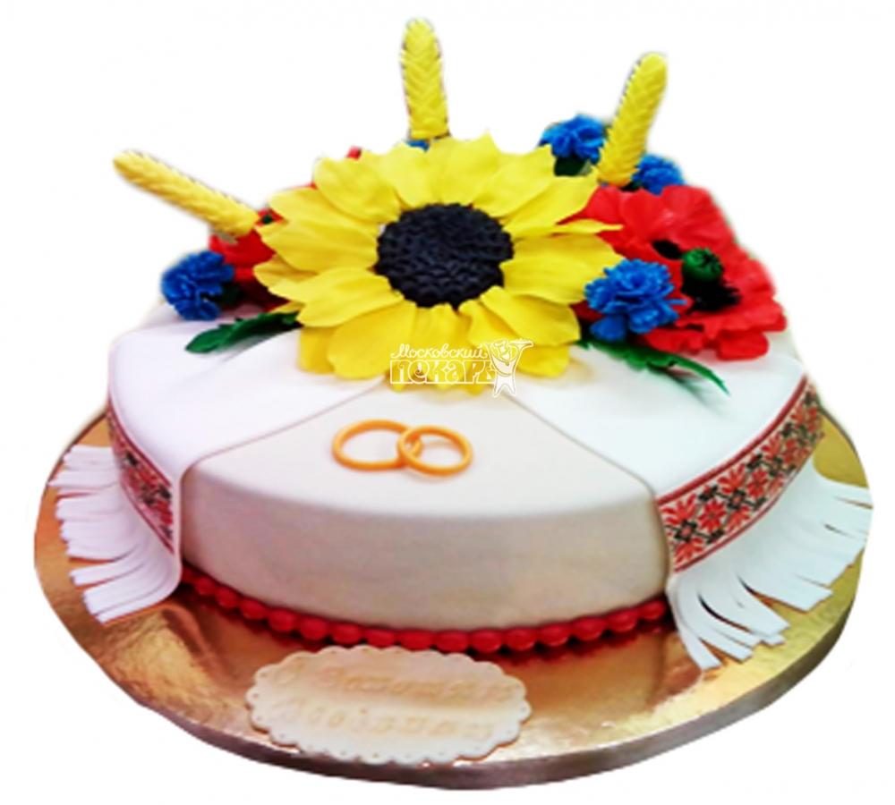 №3992 Свадебный торт