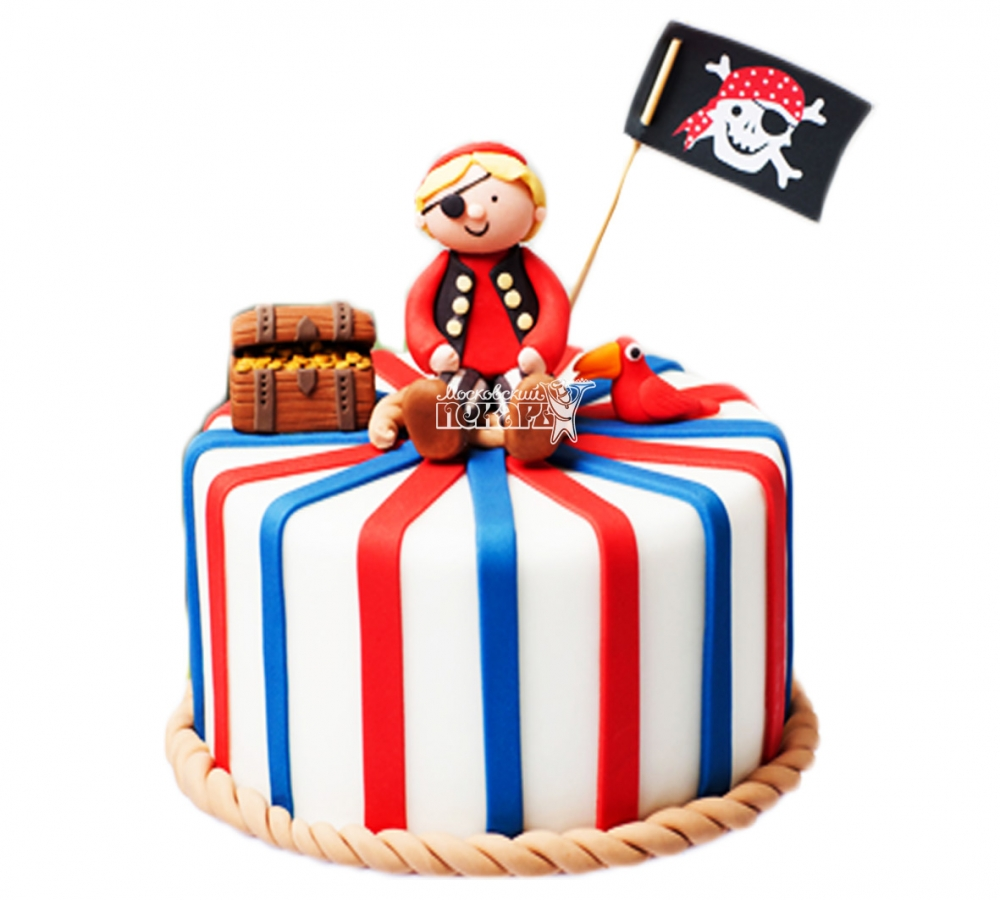 №3994 Торт пиратский