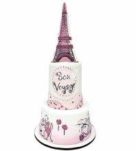№4016 Свадебный торт с башней