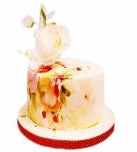 №4026 Свадебный торт небольшой