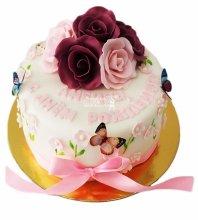 №4053 Торт с цветами