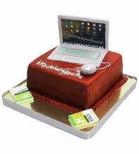 №4058 Торт ноутбук