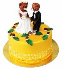 №4067 Небольшой свадебный торт