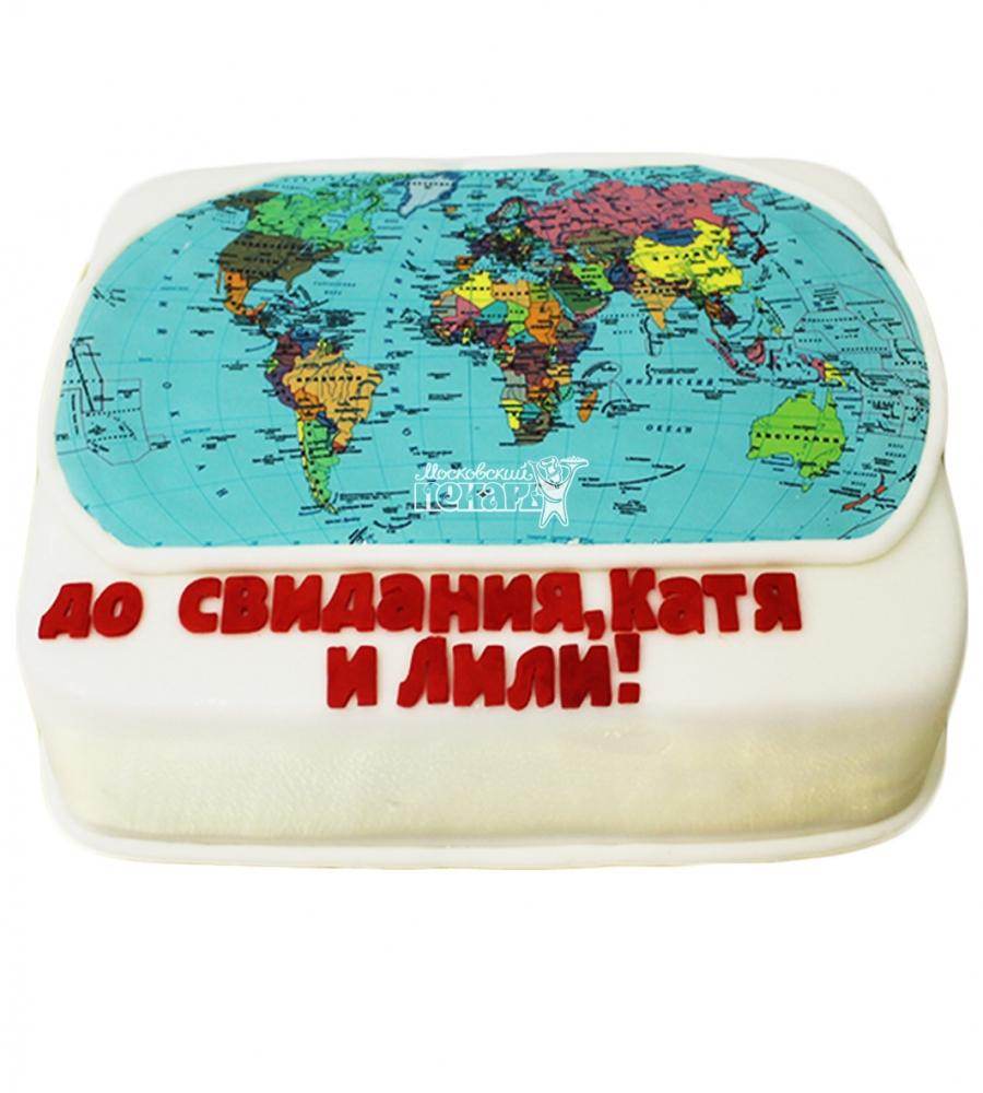 №4076 Торт с картой