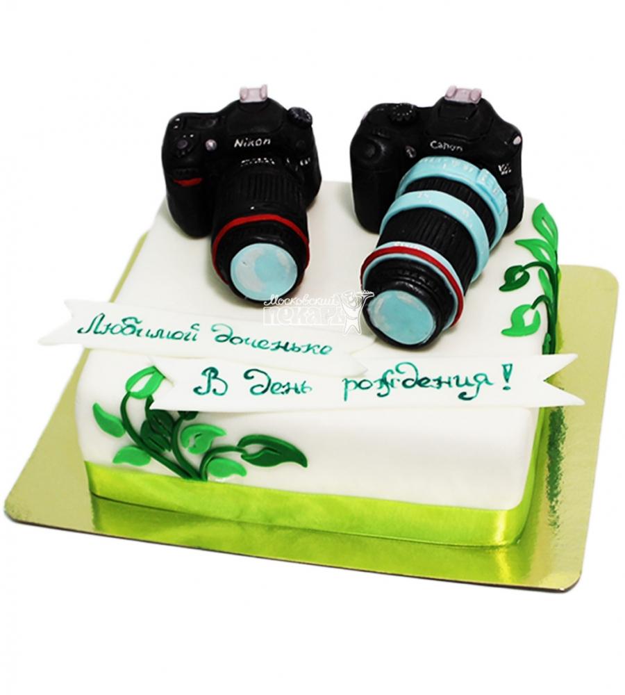 №4101 Торт фотографу