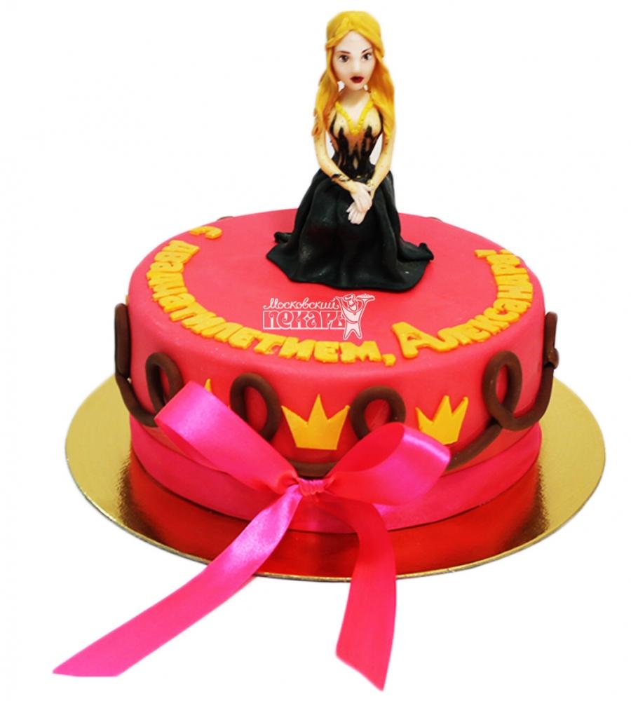 №4123 Торт для девочки