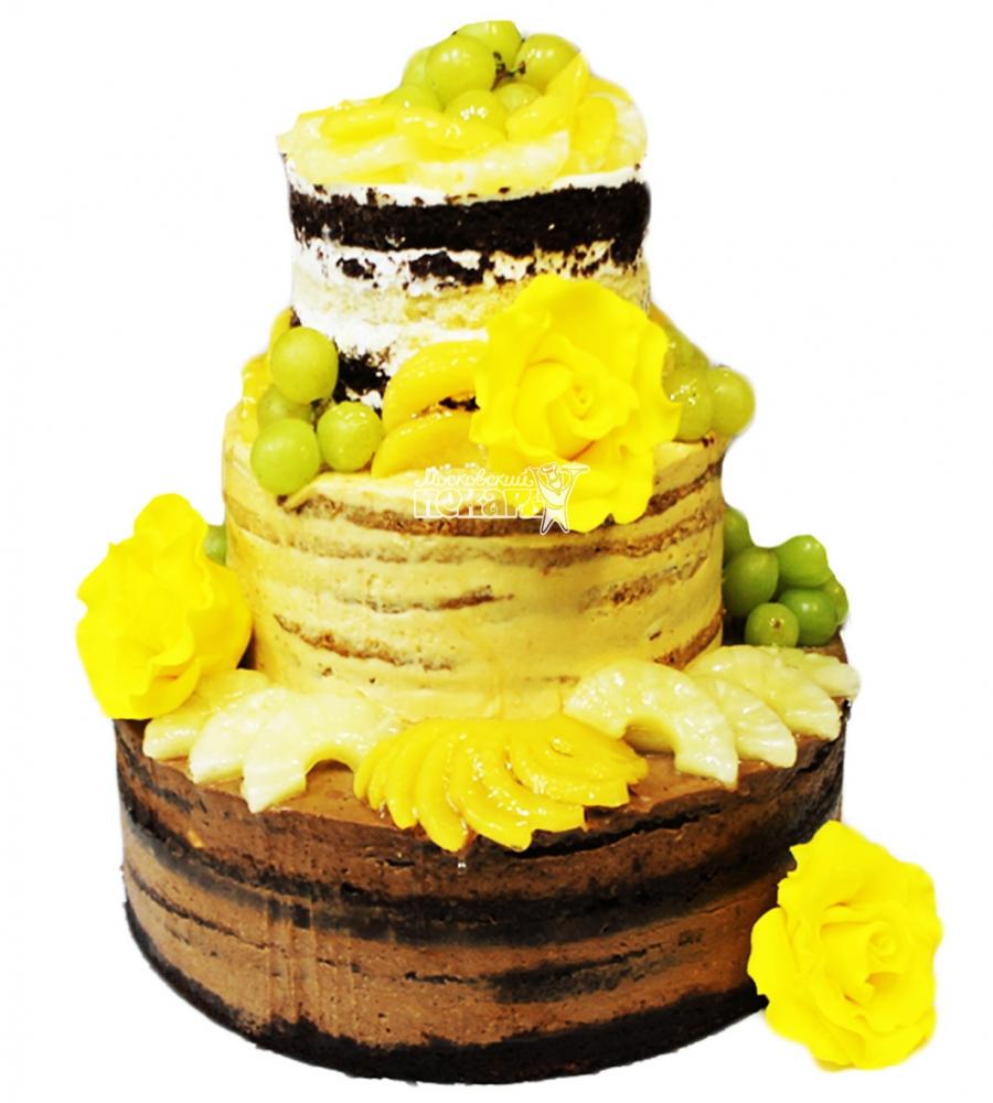 №4127 Торт с фруктами