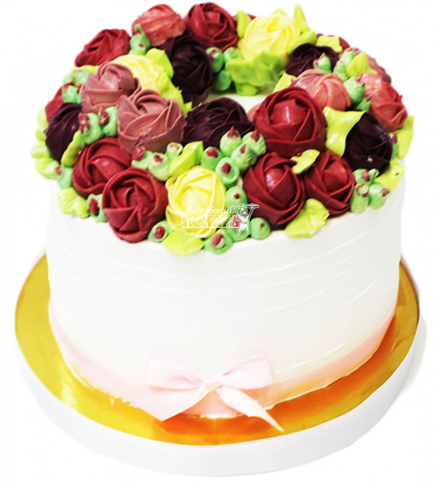 №4136 Небольшой свадебный торт