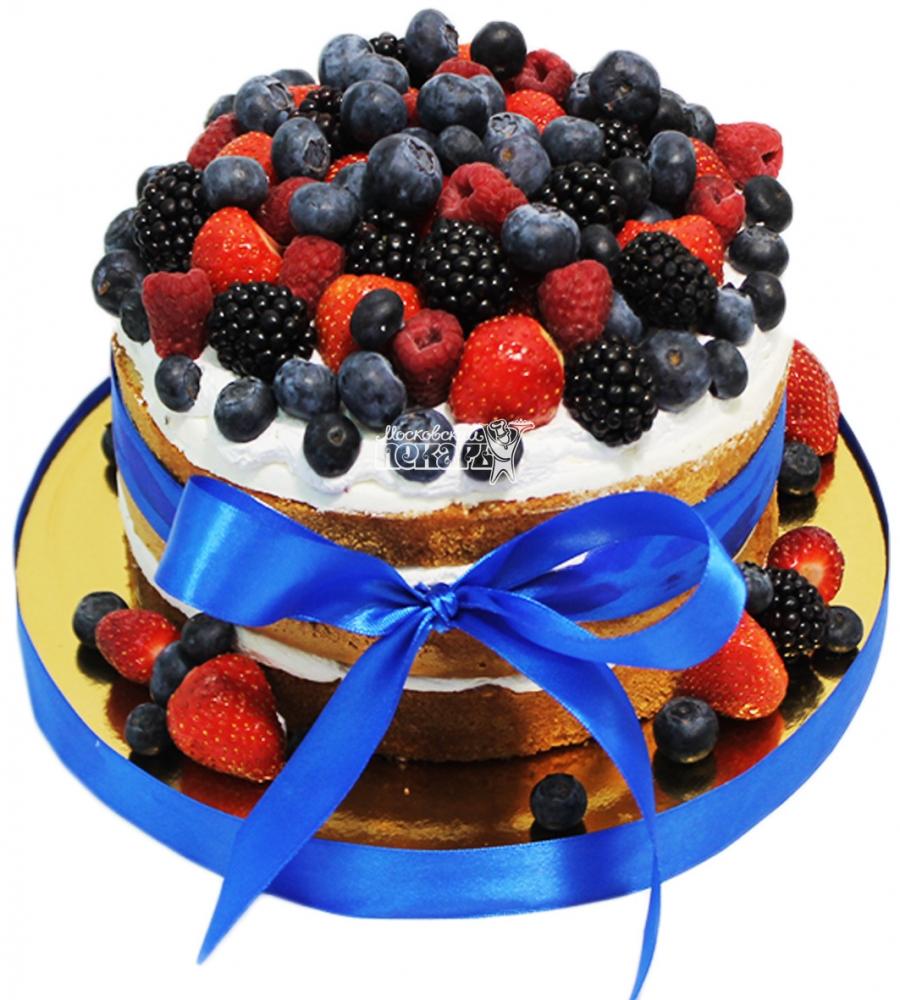 №4153 Торт с ягодами