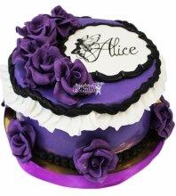 №4154 Торт с цветами