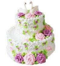 №4162 Свадебный торт