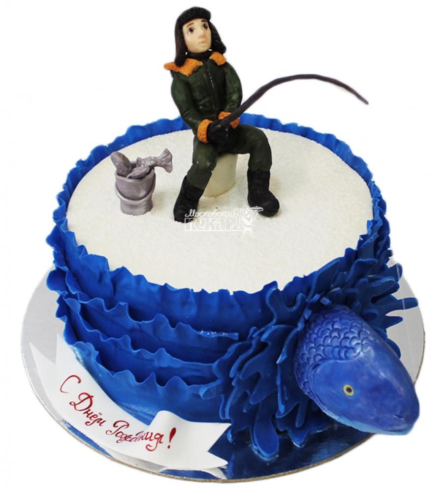 №4168 Торт рыбаку