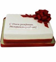 """№4190 Корпоративный торт для """"МЕЖТОПЭНЕРГОБАНК"""""""