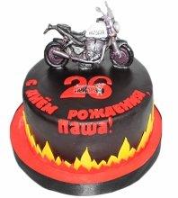 №4193 Торт Мотоцикл