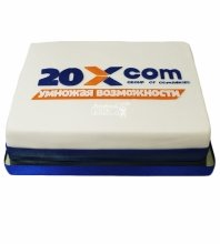 """№4196 Корпоративный торт для """"20Xcom"""""""