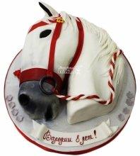 №4202 3D торт лошадь