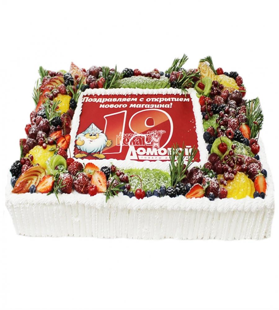 №4206 Корпоративный торт для